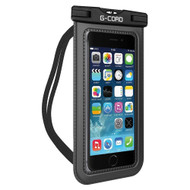 *SALE* IPX8 Waterproof Phone Pouch with Armband and Neck Lanyard - Black