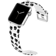 *Sale* Aluminum Buckle Silicone Band Strap for Apple Watch 44mm / 42mm - Paw