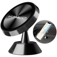 Universal 360° Rotating Magnetic Dashboard Mount Phone Holder - Black