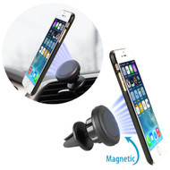 Magnetic Air Vent Car Cell Phone Holder - Black