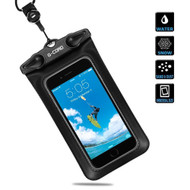 *SALE* IPX8 Waterproof Phone Pouch with Neck Lanyard - Black
