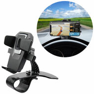 Car Dashboard Clip Cradle Mount Phone Holder - Black