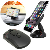 Transformer Car Windshield & Dashboard Phone Mount - Black