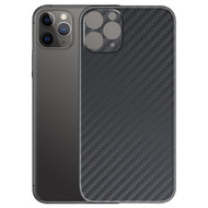 3M Vinyl Adhesive Protective Skin for iPhone 11 Pro Max - Carbon Fiber Black