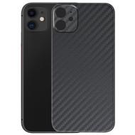 3M Vinyl Adhesive Protective Skin for iPhone 11 - Carbon Fiber Black