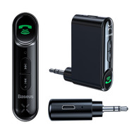 Bluetooth V5.0 Handsfree and Audio Streaming Wireless Receiver - Black