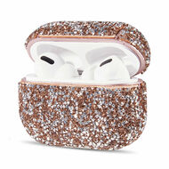 Mosaic Diamond Protective Case for Apple AirPods Pro - Rose Gold