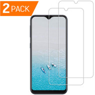 2-Pack Crystal Clear Screen Protector for Samsung Galaxy A50 / A20