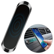 Universal Magnetic Strip Dashboard Phone Mount - Black