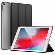 Leather Folio Smart Hybrid Case for iPad 9.7 (5th & 6th Generation) - Black