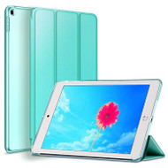 Leather Folio Smart Hybrid Case for iPad 9.7 (5th & 6th Generation) - Teal