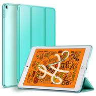 Leather Folio Smart Hybrid Case for iPad Mini 5 (5th Generation) - Teal