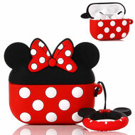 Novelty Silicone Protective Case for Apple AirPods Pro - Minnie