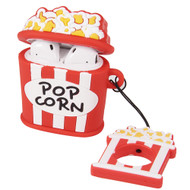 Novelty Silicone Protective Case for Apple AirPods - Popcorn
