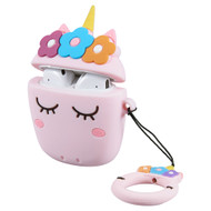 Novelty Silicone Protective Case for Apple AirPods - Unicorn