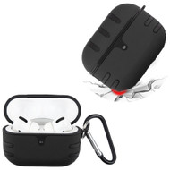 TUFF Double Layer Protective Case for Apple AirPods Pro - Black