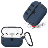TUFF Double Layer Protective Case for Apple AirPods Pro - Navy Blue