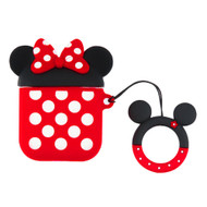 Novelty Silicone Protective Case for Apple AirPods - Minnie