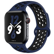 *Sale* Soft Breathable Sport Band Strap for Apple Watch 44mm / 42mm - Navy Blue