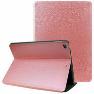 *Sale* Boarded Leather Smart Folio Hybrid Case for iPad 9.7 (5th & 6th Generation) / iPad Air 2 / iPad Air - Pink