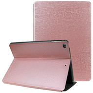 *Sale* Boarded Leather Smart Folio Hybrid Case for iPad 9.7 (5th & 6th Generation) / iPad Air 2 / iPad Air - Rose Gold