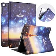 Leather Folio Smart Hybrid Case for iPad 9.7 (5th & 6th Generation) / iPad Air 2 / iPad Air - Paris Eiffel Tower