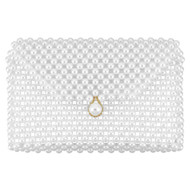 Luxury Pearl Clutch Purse