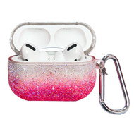Glitter Protective Case for Apple AirPods Pro - Gradient Pink