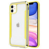 Supernova Transparent Fusion Case for iPhone 11 - Yellow