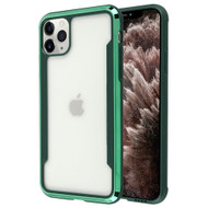 Supernova Transparent Fusion Case for iPhone 11 Pro Max - Midnight Green