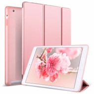 Smart Leather Folio Hybrid Case for iPad (2nd, 3rd and 4th Generation) - Rose Gold