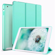 Smart Leather Folio Hybrid Case for iPad (2nd, 3rd and 4th Generation) - Baby Blue
