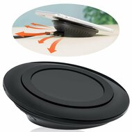 Optimized Viewing Angle Design Qi Certified Inductive Wireless Charging Pad - Black