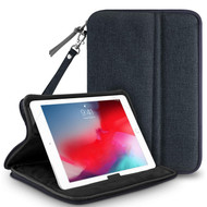 Stand Sleeve Dual Function Pouch Case - Navy Blue