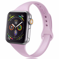 *Sale* Skinny Band Design Silicone Watch Strap for Apple Watch 44mm / 42mm - Lavender
