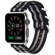 *Sale* Sport Nylon Band Watch Strap for Apple Watch 40mm / 38mm - Black Grey