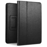Leather Portfolio Smart Case for iPad 10.2 inch (7th Generation) - Black