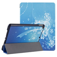 Smart Leather Folio Hybrid Case for iPad 10.2 inch (7th Generation) / iPad Air 3 / iPad Pro 10.5 inch - Blue Bubble