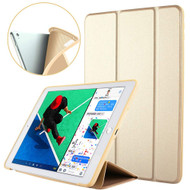 Slim Smart Leather Folio Hybrid Case for iPad Air 3 (3rd Generation) / iPad Pro 10.5 inch - Gold