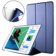 Slim Smart Leather Folio Hybrid Case for iPad Air 3 (3rd Generation) / iPad Pro 10.5 inch - Navy Blue