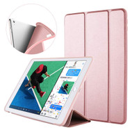 Slim Smart Leather Folio Hybrid Case for iPad Air 3 (3rd Generation) / iPad Pro 10.5 inch - Rose Gold