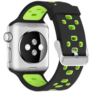 Active Lifestyle Sport Band Watch Strap for Apple Watch 44mm / 42mm - Black Volt