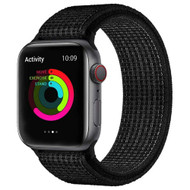 Active Nylon Watch Band Strap for Apple Watch 40mm / 38mm - Black