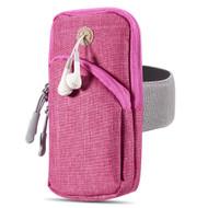 Universal Sports Armband Pouch - Hot Pink