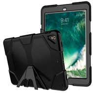 Military Grade Hybrid Case with Stand and Screen Protector for iPad Air 3 (3rd Generation) / iPad Pro 10.5 inch - Black