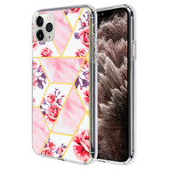 *Sale* Fusion Shield Tough Snap-on Case for iPhone 11 Pro Max - Marble Roses