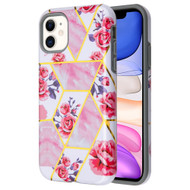 *Sale* Fuse Slim Armor Hybrid Case for iPhone 11 - Marble Roses