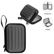 Hard Shell Protective Storage Case for Apple AirPods and AirPods Pro - Black