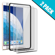 2-Pack HD Premium Tempered Glass Screen Protector with Installation Frame for iPad 10.2 inch (7th Generation)