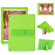 Drop Protection Silicone Case with Stand for iPad 10.2 inch (7th Generation) / iPad Air 3 / iPad Pro 10.5 - Green